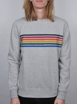 Revolution Rainbow sweat Grey