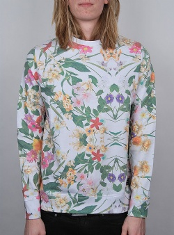 Revolution Flower sweat White