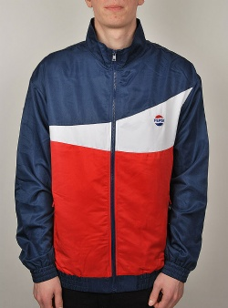 Sweet sktbs x Pepsi Pepsi tennis track jacket Navy white red