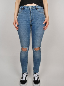 Cheap Monday High spray Cut off blue
