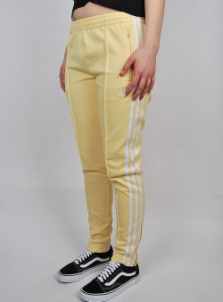 Adidas Superstar track pants Sand