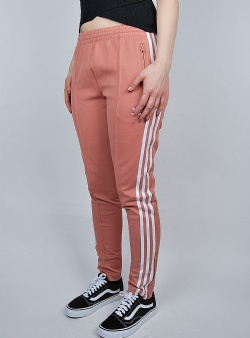 Adidas Superstar track pants Ashpnk