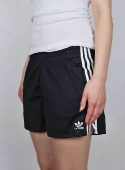 Adidas 3 stripes short Black