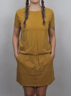 Wemoto Miko dress Mustard
