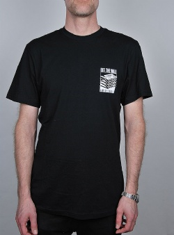 Vans Stacked up tee Black