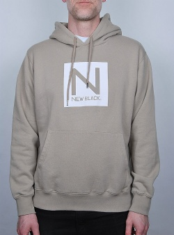 New Black Box logo hood Vintage khaki