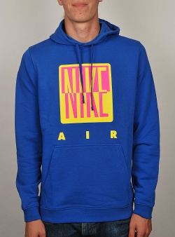 Nike 90´s graphic hood Hyper royal hyper pink