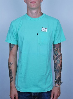 Rip n Dip Lord nermal tee Overdyed mint