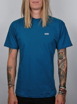 Vans Left chest logo tee Corsair