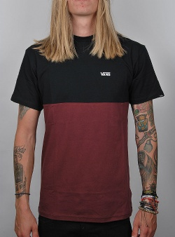 Vans Colorblock tee Port royale black