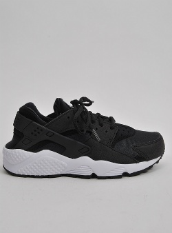 Nike Air huarache run womens Black black white
