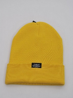 d4e52ef0b07 Cheap Monday Cheap beanie Yellow