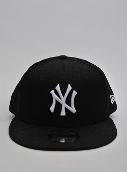 New Era NY Yankees 9fifty Black white