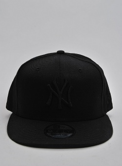 New Era NY Yankees 9fifty Black black