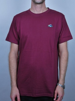 Wemoto Mountains tee Burgundy