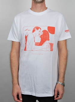 Wemoto Kiss tee White