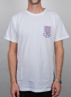 Dedicated Online fun tee White