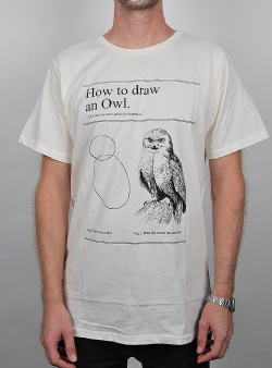 Dedicated How to draw an owl Off white