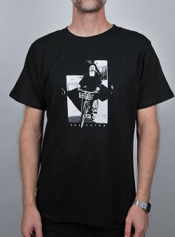 Dedicated Bike nun tee Black
