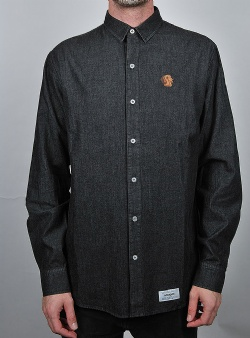 Wemoto Quincy shirt Black