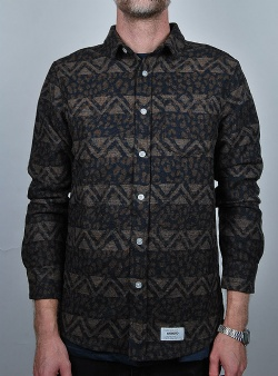 Wemoto Aiden shirt Brown