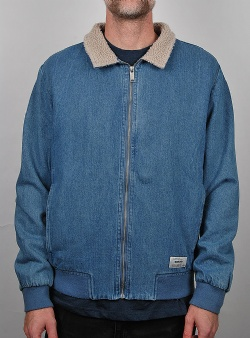 Wemoto Garland jacket Blue denim