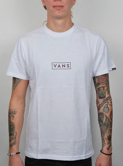 Vans Easy box ss tee White