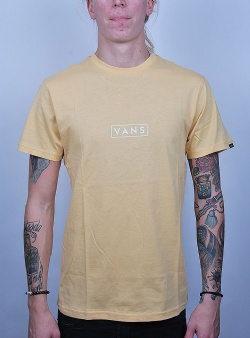Vans Easy box ss tee New wheat