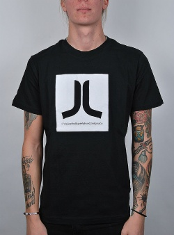 WeSC Box icon tee Black