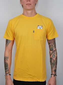 Rip n Dip Lord nermal tee Yellow
