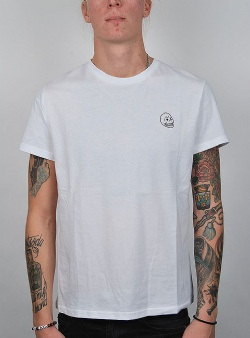 Cheap Monday Standard tee tiny skull White