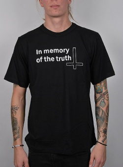 Cheap Monday Boxer tee memory truth Black