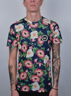 Hype Floral eggs tee Multi