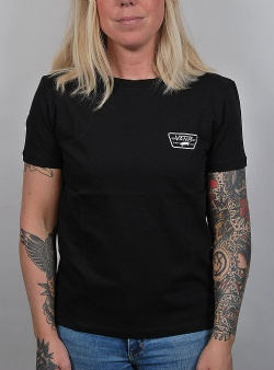 Vans Full patch crew tee Black