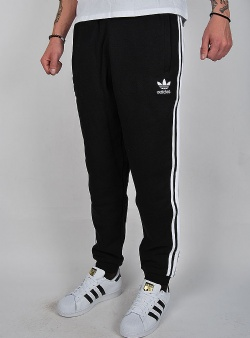Adidas 3 stripes pants Black