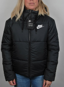 Nike Syn filled jacket reversible Black white