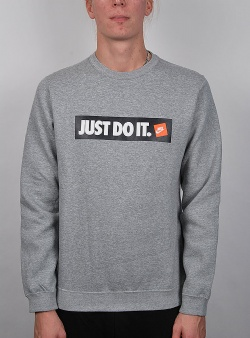 Nike Hbr crew fleece Dark grey heather