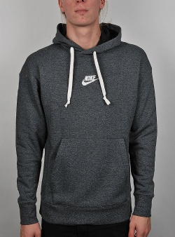 Nike Heritage hoodie Black heather sail