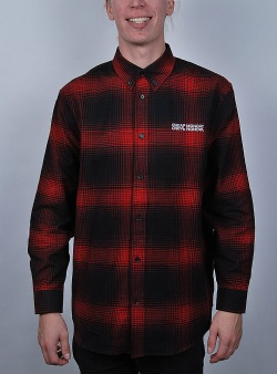 Cheap Monday Clean conduct shirt Dark red