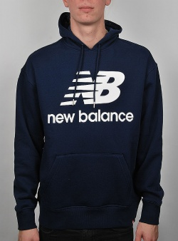 New Balance Essentials stacked hoodie Pgm