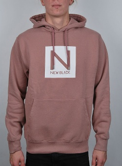 New Black Box logo hood Terra rose