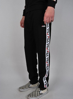 Fila Tadeo tape sweat pant Black
