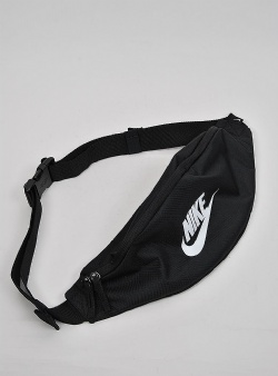 Nike Heritage waistbag Black black white
