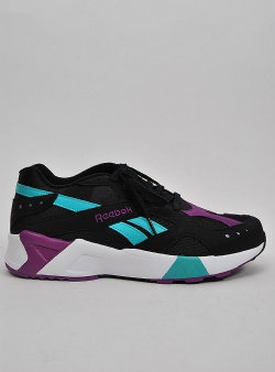 Reebok Aztrek Black teal abergine white grey