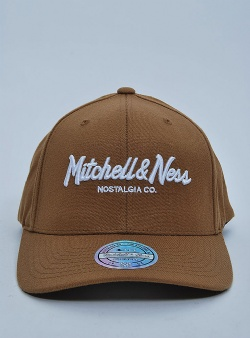 Mitchell and Ness Pinscript 110 flexfit snapback Satchel
