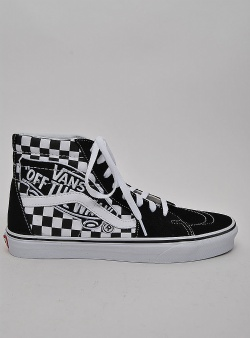 Vans Sk8-hi vans patch Black true white