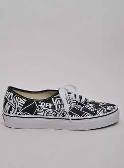 Vans Authentic otw repeat Black true white