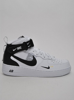 Nike Air force 1 mid 07 lv8 utility Wht blk tour yellow