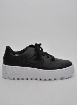 Nike Air force 1 sage low Blk blk wht
