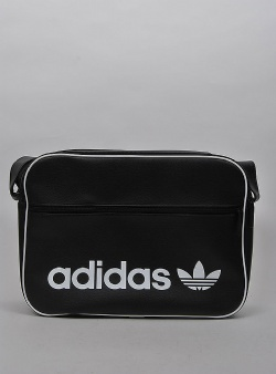 Adidas Airliner vintage bag Black